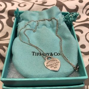 SALE! Tiffany & Co. Women's Heart Tag Necklace